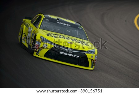 AVONDALE, AZ - MAR 11: Matt Kenseth at the NASCAR Sprint Cup Good Sam 500 at Phoenix International Raceway in Avondale, AZ on March 11, 2016
