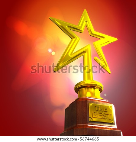 Award - stock photo