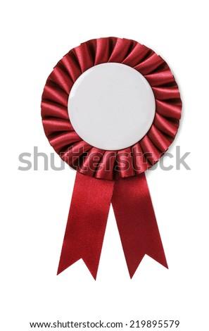 Award badge isolated on a white background - stock photo