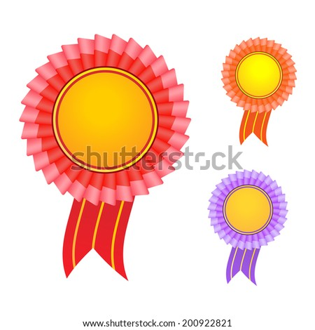 award label - stock photo