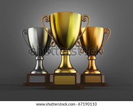 Awards - stock photo