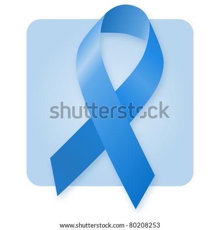 Awareness Ribbon - Tuberous Sclerosis - stock photo