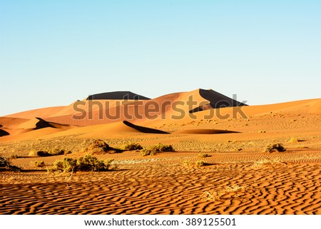 Awesome scenery of Namibia