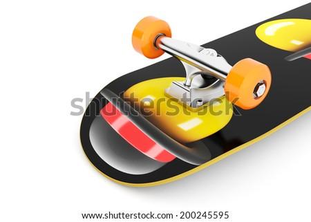 Awesome Skateboard - stock photo