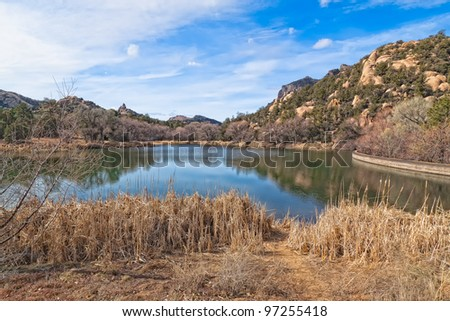 AZ-Prescott-Granite Basin Recreational area-Granite Basin Lake