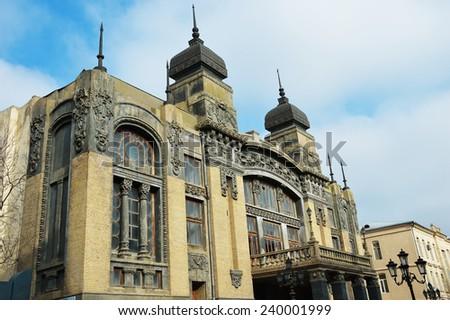 Azerbaijan State Academic Opera and Ballet Theater in Baku - stock photo