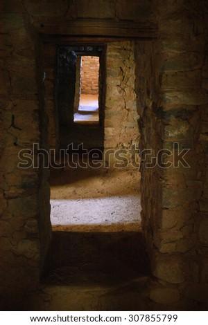Aztec Ruins  - stock photo