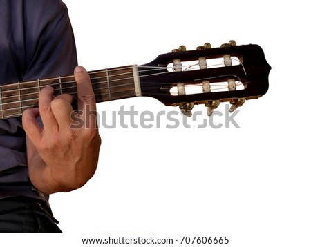 C Chord Acoustic Guitar Stock Photo 707606647 Shutterstock