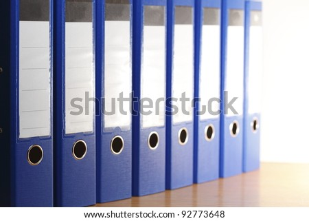 Büro Ordnung - stock photo
