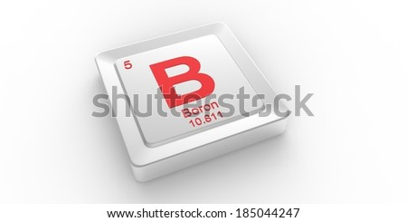 B symbol 5 material boron chemical stock illustration 185044247 b symbol 5 material for boron chemical element of the periodic table urtaz Image collections
