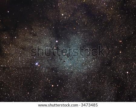B72 The Snake nebula - stock photo