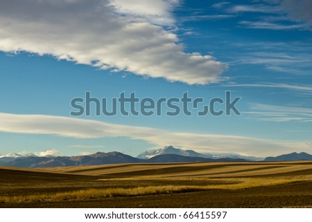 B;ue Sky and Cloud Patterns - stock photo