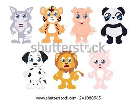 Baby Animals - stock photo