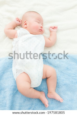 Baby baby take rest - stock photo