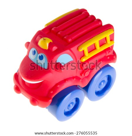 Baby car, Baby toy car on the background - stock photo