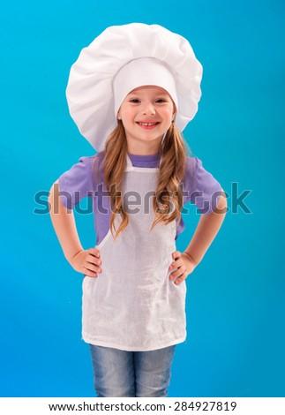 baby clothing cooks - stock photo