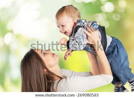 Baby, emotional, toddler. - stock photo