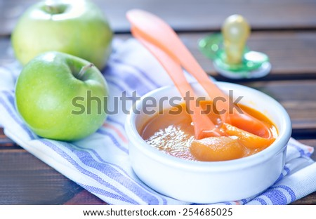 baby food - stock photo