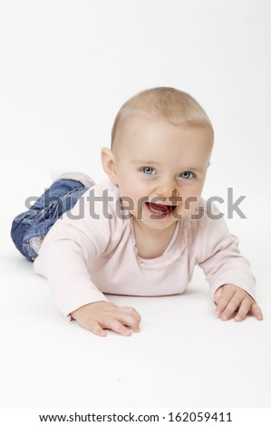 Baby Girl - stock photo