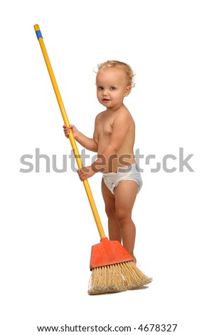 baby girl  cleaner