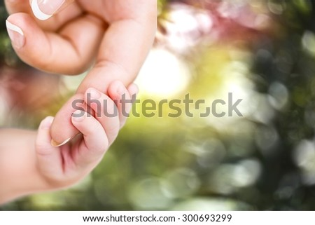 Baby, Human Hand, Mother.