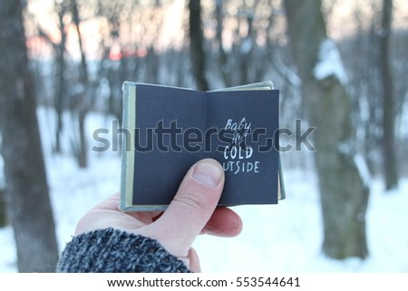 Baby Its Cold Outside Stock Images Royalty Free Images
