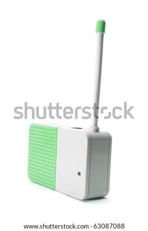 Baby Monitor on White Background