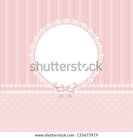 Baby pink raster background - stock photo