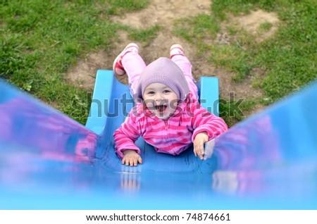 baby play - stock photo
