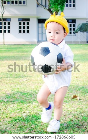 baby play ball