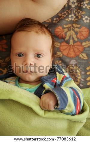 baby portrait - stock photo
