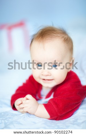 Baby portrait - stock photo