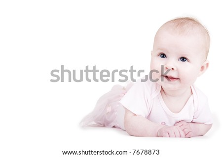 Baby portraits, isn't she cute?