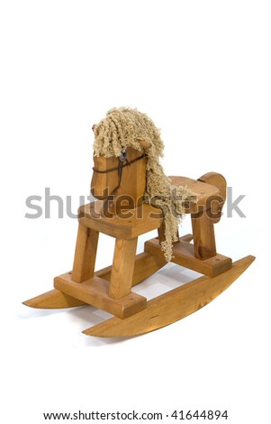 Baby Rocking Horse - stock photo