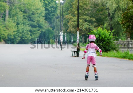 baby roller - stock photo