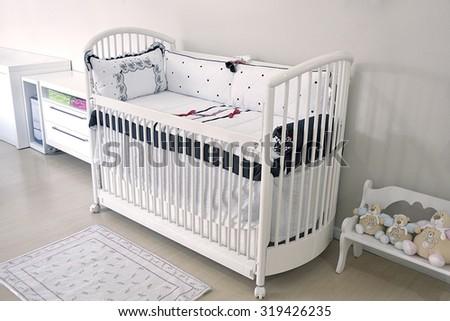 baby room - stock photo