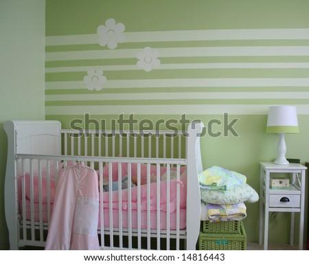 baby's nursery - stock photo