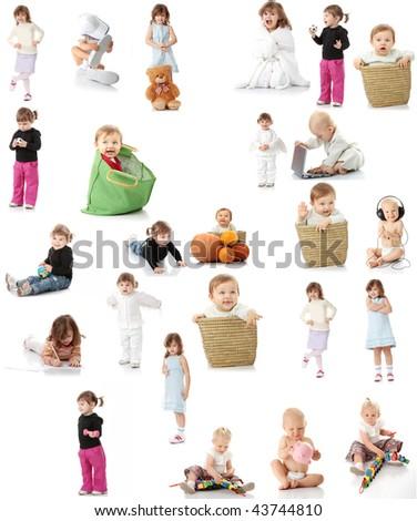 Baby set - stock photo