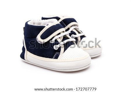 Baby shoes - stock photo