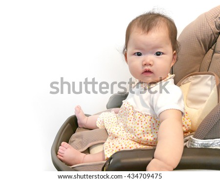 Baby bouncer stock photos royalty free images vectors for Toddler sitting chair