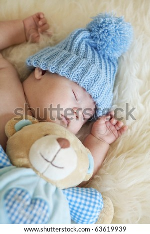 baby sleep - stock photo