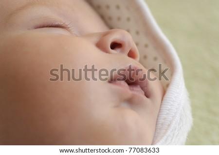 baby sleeps - stock photo