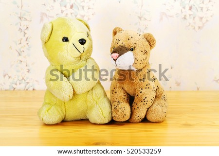 Baby soft toys.