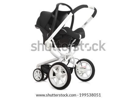 Baby stroller  - stock photo