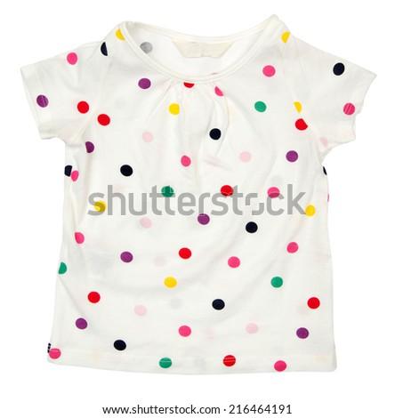 Baby t-shirt  - stock photo