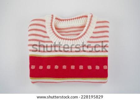 Baby Wool Sweater - stock photo