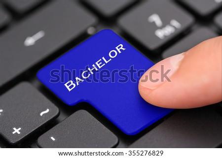 Bachelor - stock photo