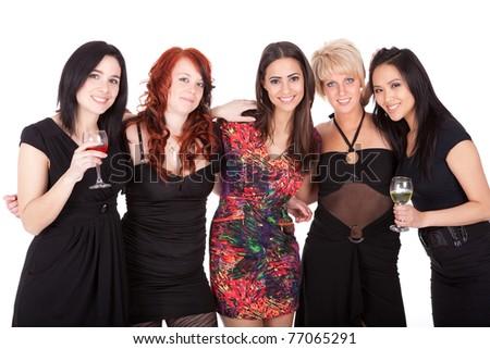 Bachelorette party - stock photo