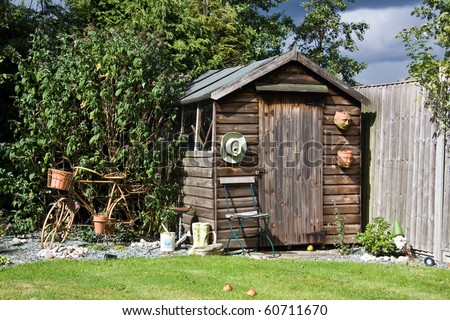 Garden Shed Stock Images Royalty Free Images Vectors Shutterstock