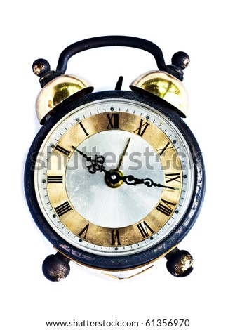 back in time - stock photo
